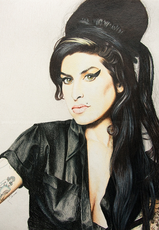 Amy Winehouse by JanssenArt